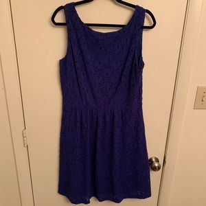 Royal Blue Tank Dress